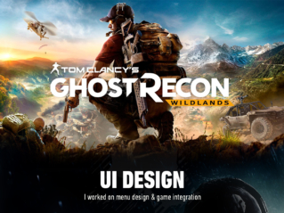 Ubisoft Ghost Recon Wildlands – UI Design