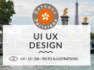 Bateaux Parisiens – UX UI