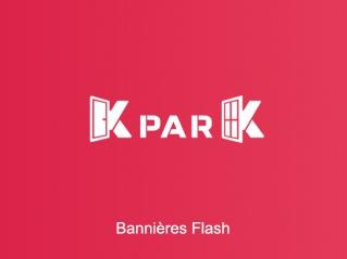K par K<br>Bannières Flash